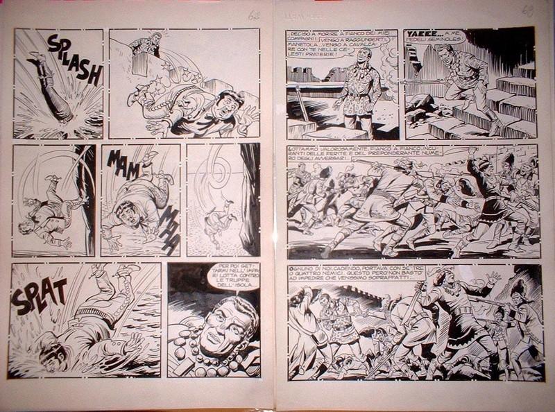 Il re di Cuenca verde (Segna) - Il ritorno di Liberty Sam (Capone) - storie inedite - Pagina 3 20017410