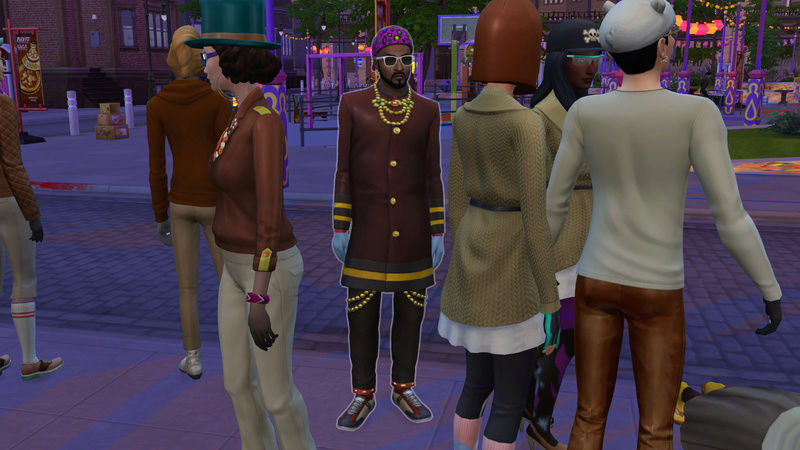 Sims Who Dressed in the Dark SIMs 4 [2014-2018] - Page 8 07-18-17