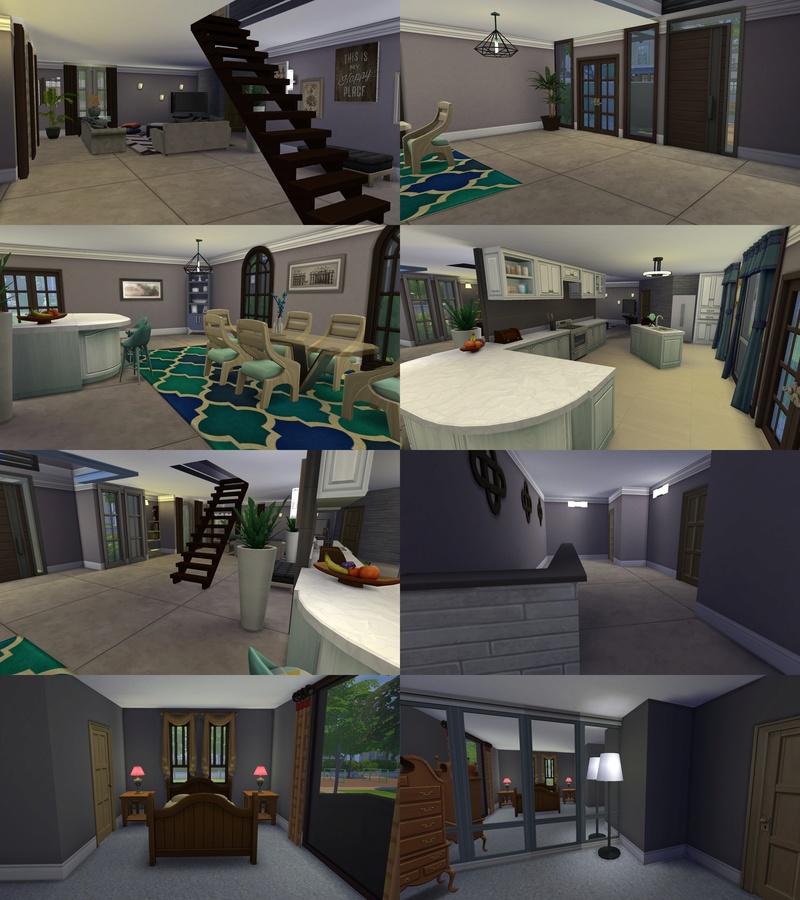 Simonen House Sims 4 by mamaj 09-07-12