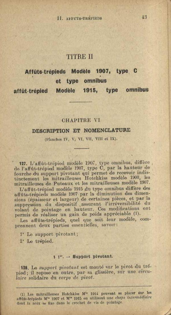 mitrailleuse St Etienne 1907 Ryglem30