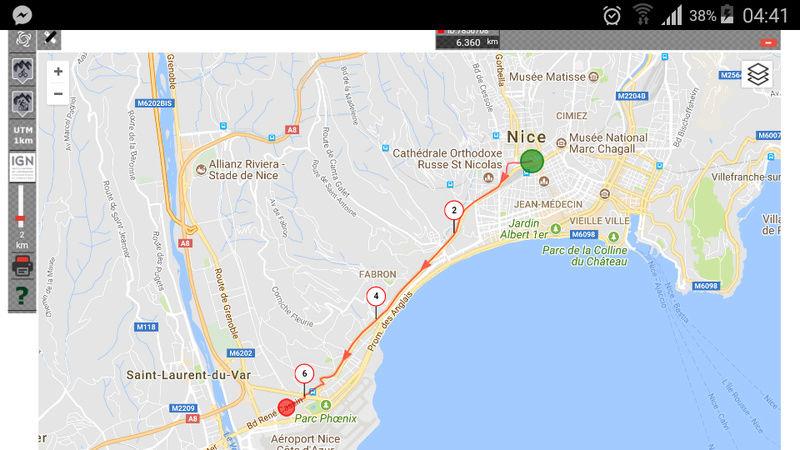 Vidéo----La voie rapide de Nice en P&G Screen10