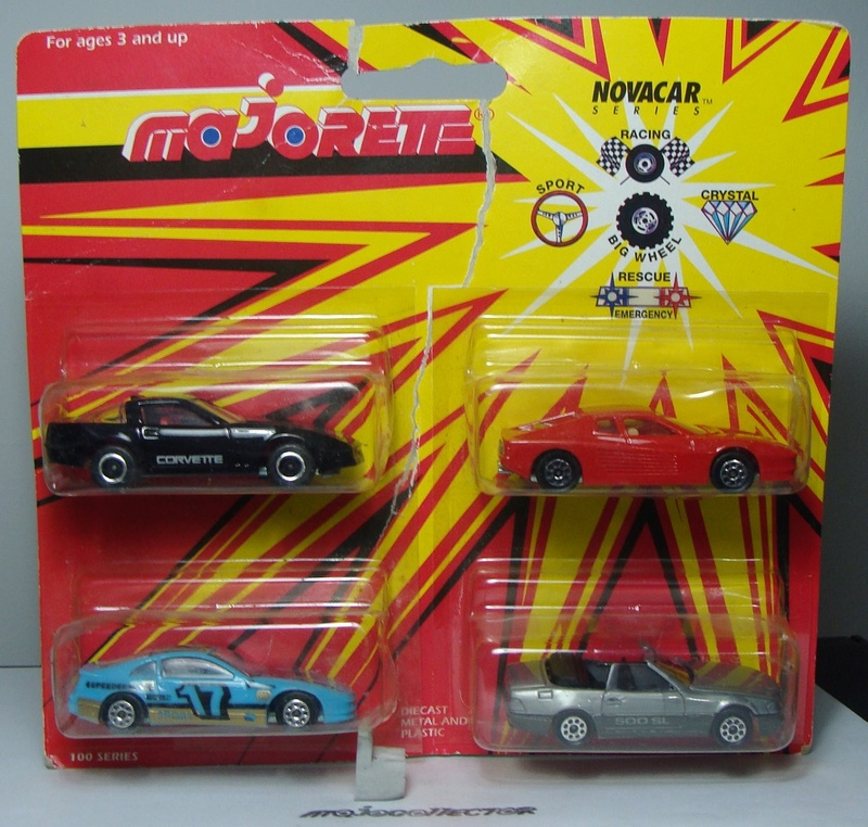 PACK NOVACAR 4 PIECES SPORTS CARS 103_ch14