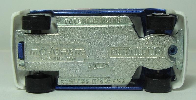 N°207S/208S RENAULT CLIO I 207s-214
