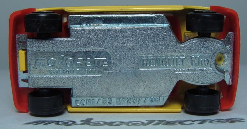 N°207S/208S RENAULT CLIO I 207s-221