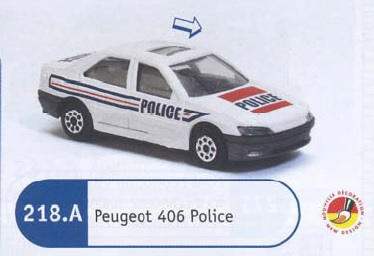 N°218A PEUGEOT 406 POLICE 218_4a11