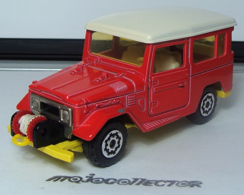 N°3014 toyota land cruiser avec cable + crochet    3014_t14