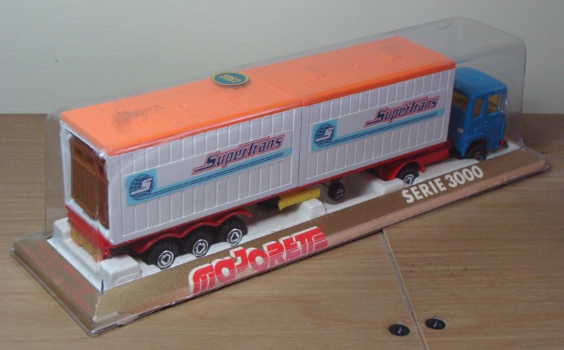"""N°3062 RENAULT SAVIEM PS30 2x20"""" DOUBLE CONTAINER  3062_s10"""