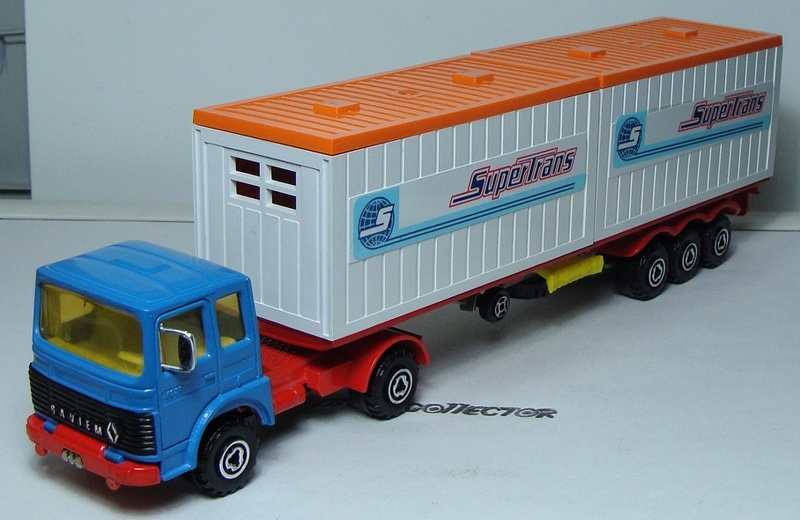 "N°3062 Renault-Saviem 2x20"" Double Container 3062_s13"