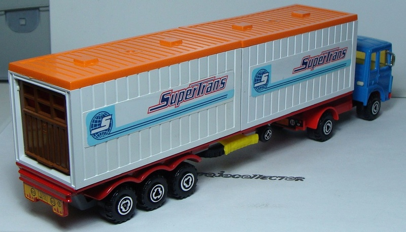 """N°3062 RENAULT SAVIEM PS30 2x20"""" DOUBLE CONTAINER  3062_s14"""