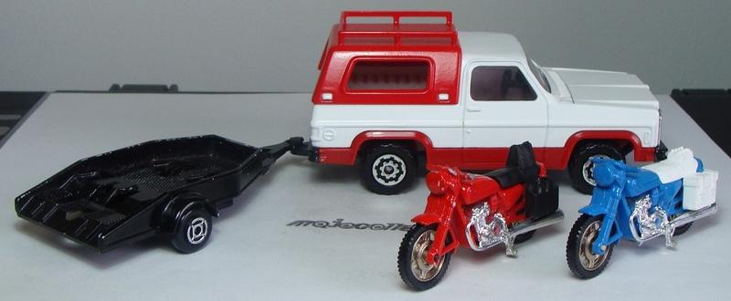 N°3066 CHEVROLET BLAZER + REMORQUE MOTOS 3066_c14