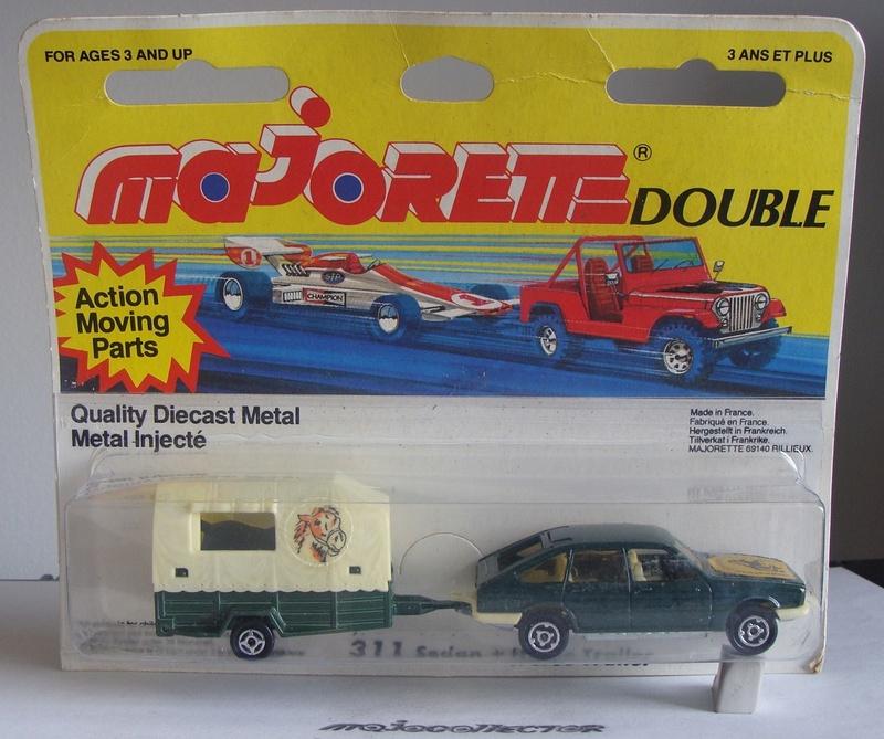 N°311 Simca 1308 + Van 311-3713
