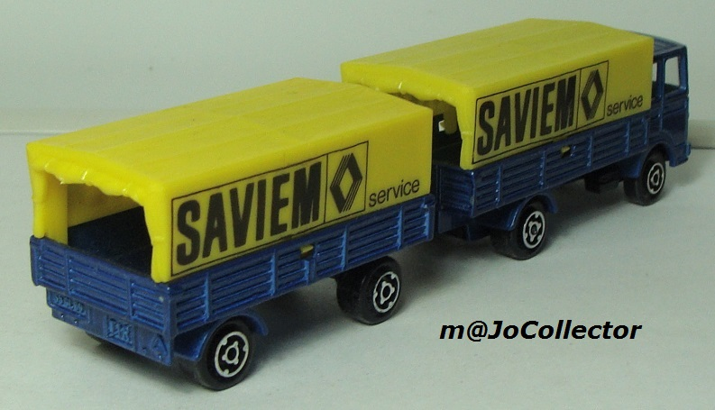 N°366 SAVIEM BACHE+REMORQUE 366_1_16