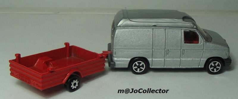 N°317 Ford Econoline + Remorque Bachée 374-3115