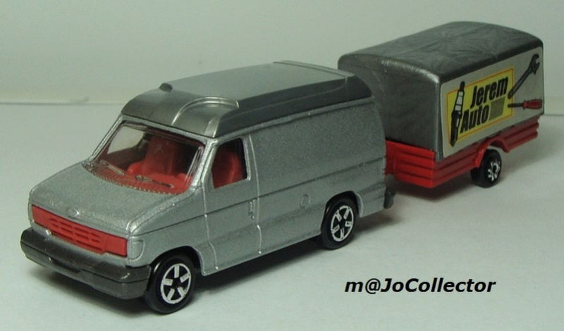 N°317 Ford Econoline + Remorque Bachée 374-3116