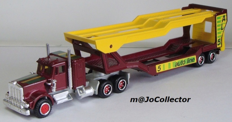 N°609 Kenworth + Semi Porte Autos  609_ke12