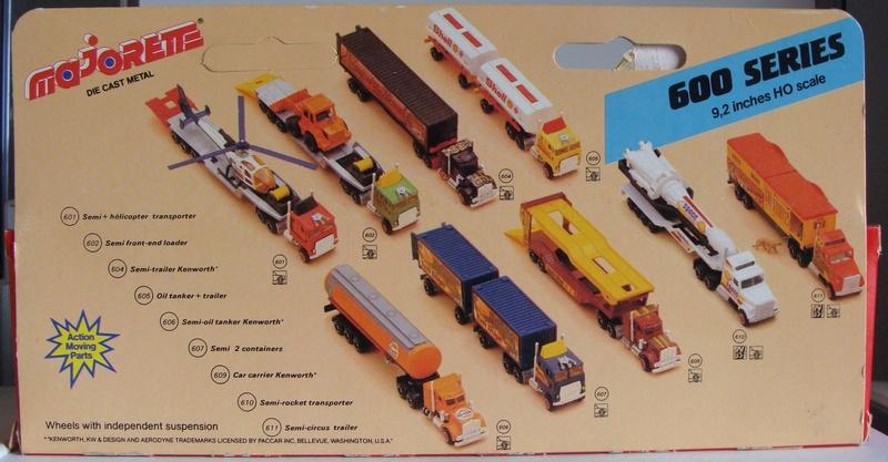 N°609 Kenworth + Semi Porte Autos  609_ke13