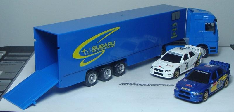 MERCEDES-BENZ ACTROS SUBARU RALLY TEAM PORTE AUTO Racing13