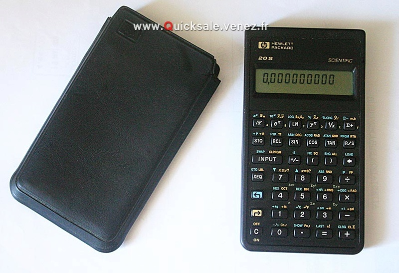 [VENDU] HP 20S Calculatrice scientifique 20€ Qs10
