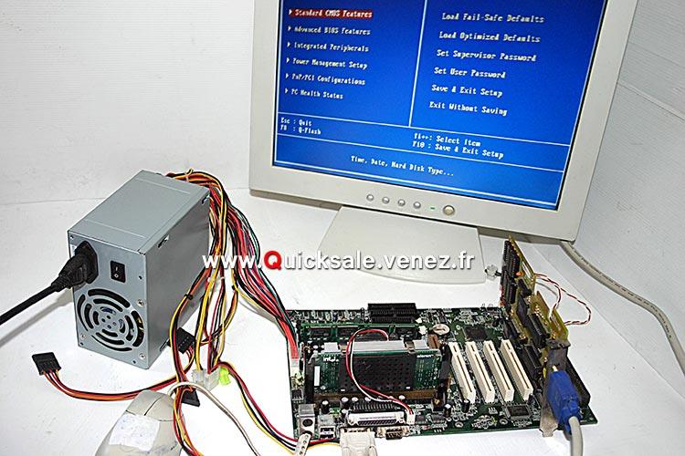 Pièces informatique Carte ISA, PCI, AGP, ect... Qs1410