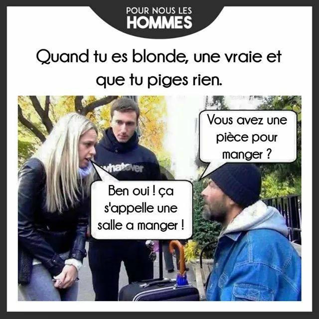 HUMOUR - Savoir écouter et comprendre... - Page 3 Blonde10