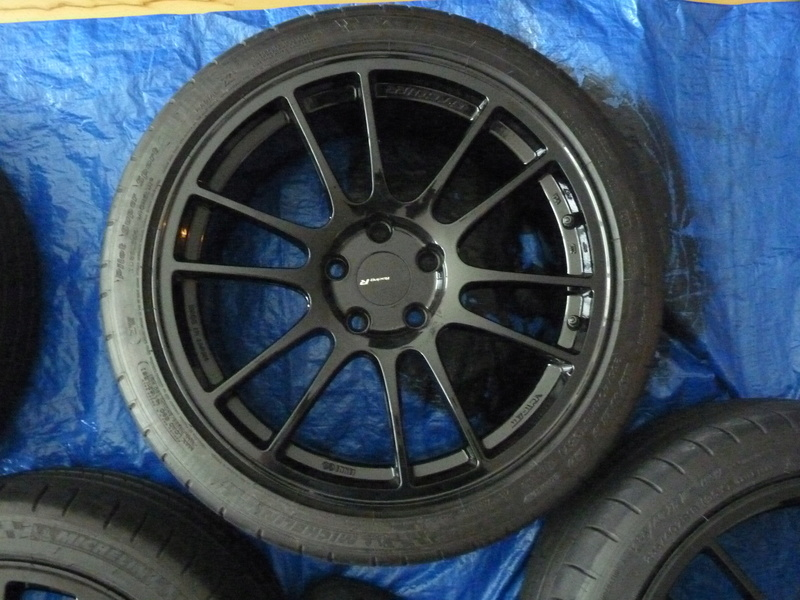 FS: Enkei GTC01RR 18x8.5 and Pilot Super Sports SOLD P1110710