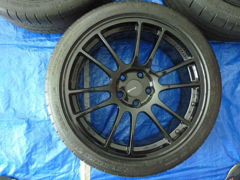 FS: Enkei GTC01RR 18x8.5 and Pilot Super Sports SOLD P1110711