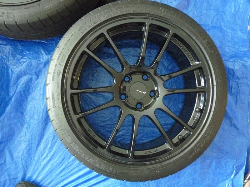 FS: Enkei GTC01RR 18x8.5 and Pilot Super Sports SOLD P1110713