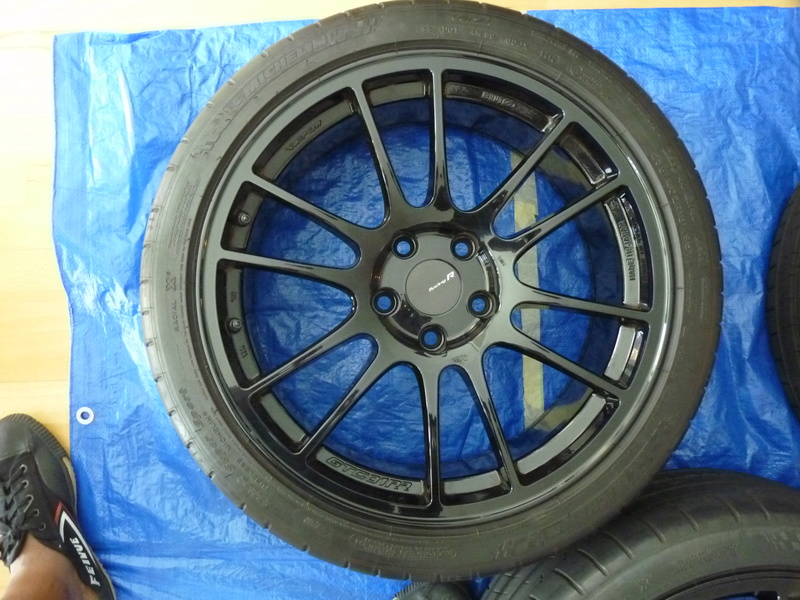 FS: Enkei GTC01RR 18x8.5 and Pilot Super Sports SOLD P1110714