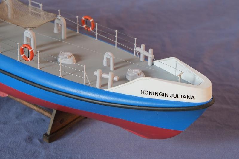 """Le """"Koningin Juliana"""" au 1/50 sur plans avec modélisation 3D - Page 3 Dscf4143"""