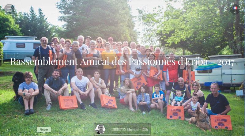Rassemblement Amical des passionnés d'Eriba (R.A.P.E.) 2017, photos, articles, dialogues et souvenirs.  Captur10