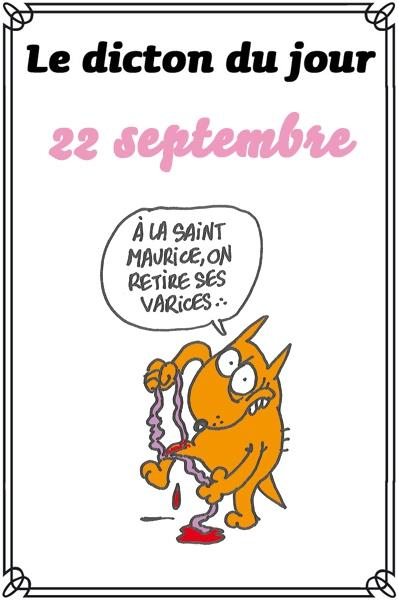 dicton du jour / dicton humour - Page 5 Mauric13