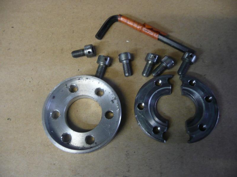 Réparation pignon sortie de boite Fazer P1220511