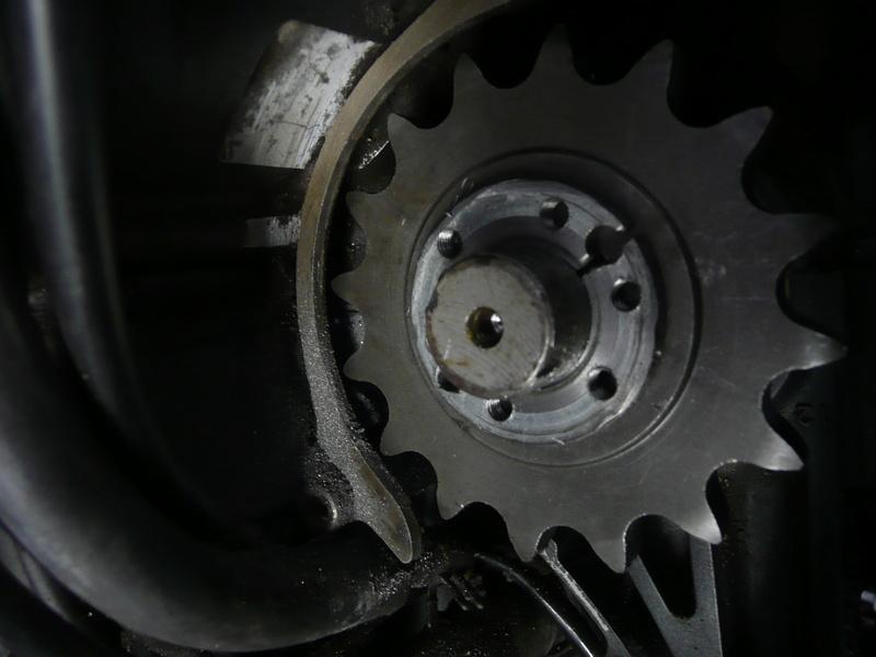 Réparation pignon sortie de boite Fazer P1220512