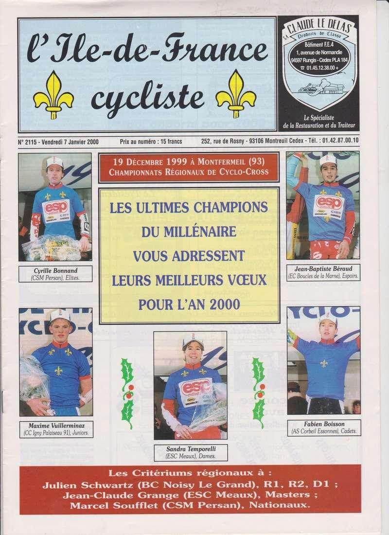 Coureurs et Clubs de janvier 2000 à juillet 2004 00136
