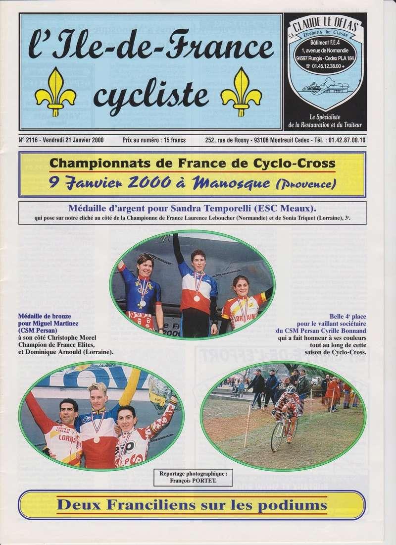 Coureurs et Clubs de janvier 2000 à juillet 2004 00137