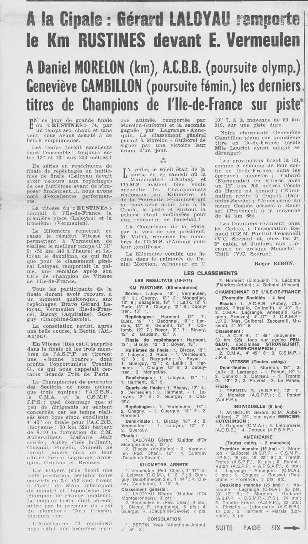 Coureurs et Clubs de juin 1974 à mars 1977 00222