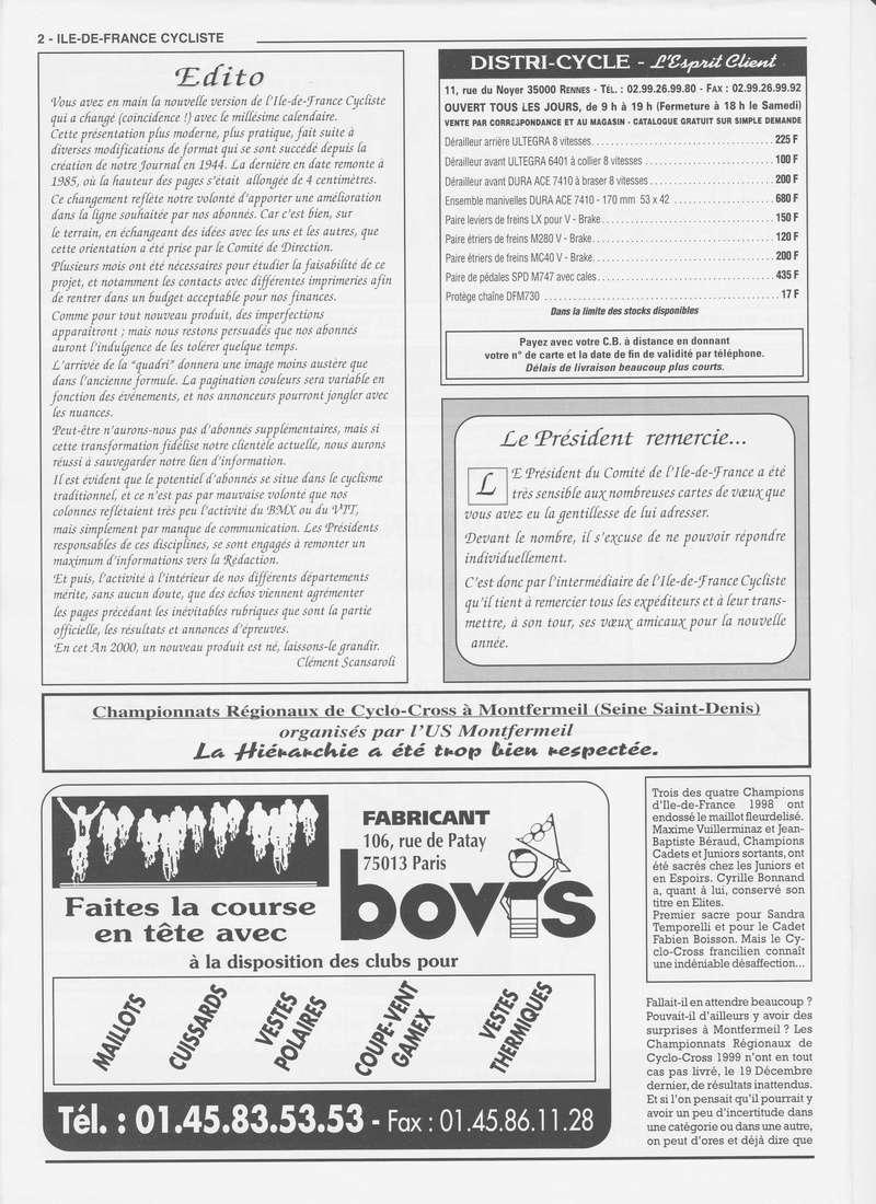 Coureurs et Clubs de janvier 2000 à juillet 2004 00239
