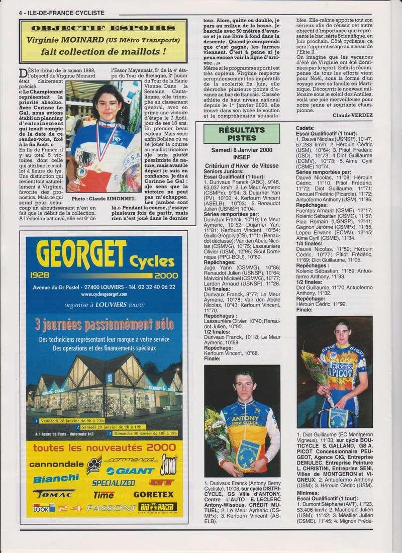 Coureurs et Clubs de janvier 2000 à juillet 2004 00437