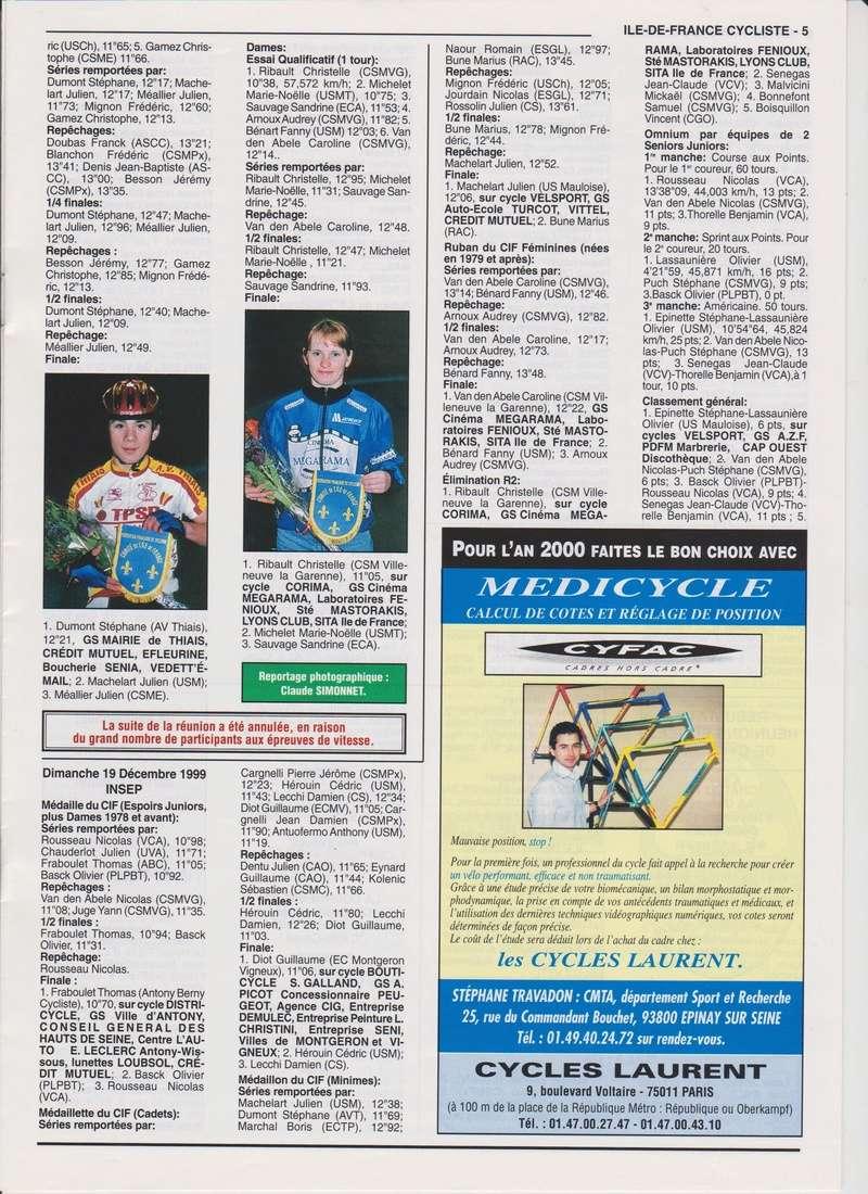 Coureurs et Clubs de janvier 2000 à juillet 2004 00538