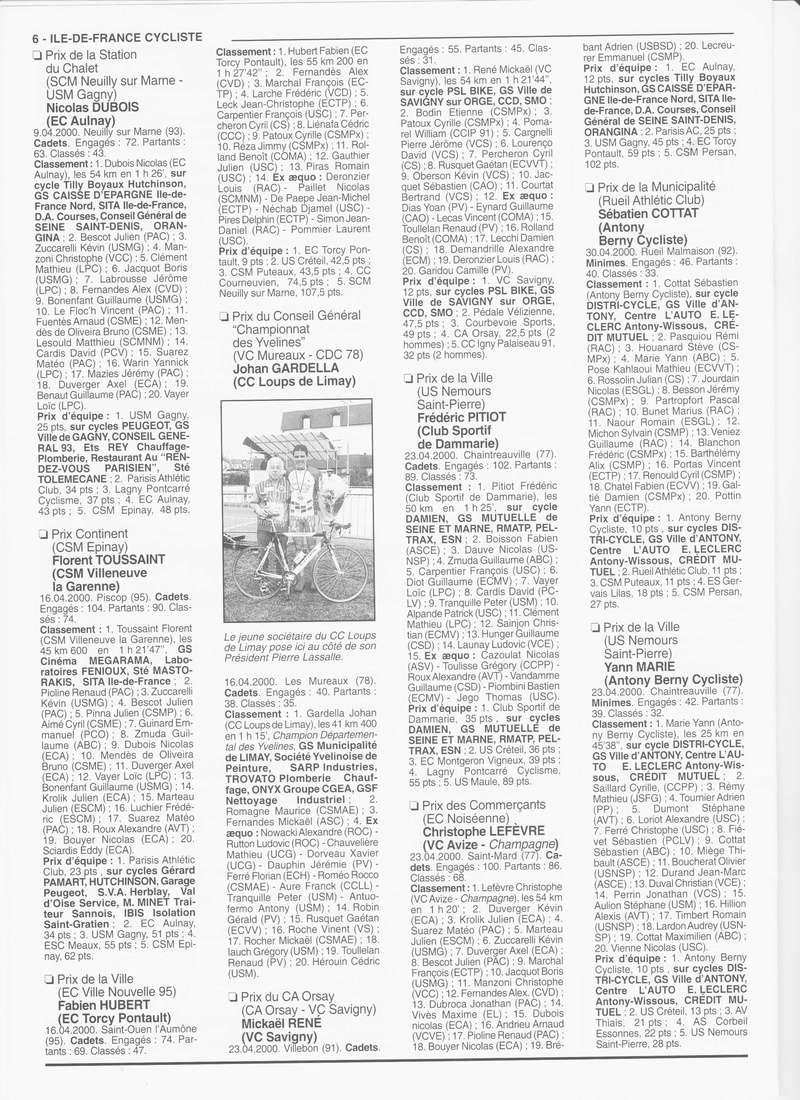 Coureurs et Clubs de janvier 2000 à juillet 2004 - Page 4 00640