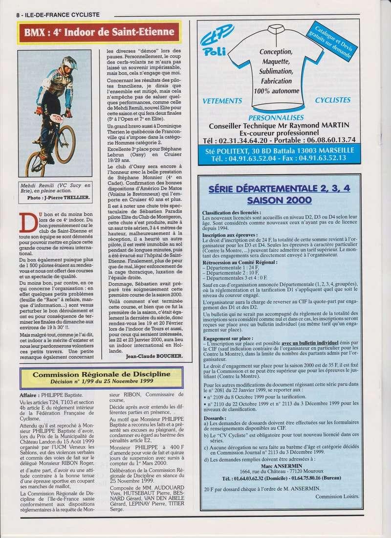 Coureurs et Clubs de janvier 2000 à juillet 2004 00838