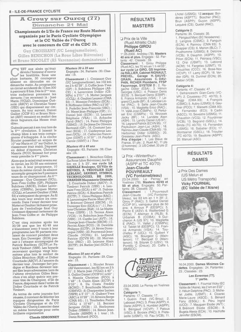 Coureurs et Clubs de janvier 2000 à juillet 2004 - Page 4 00840
