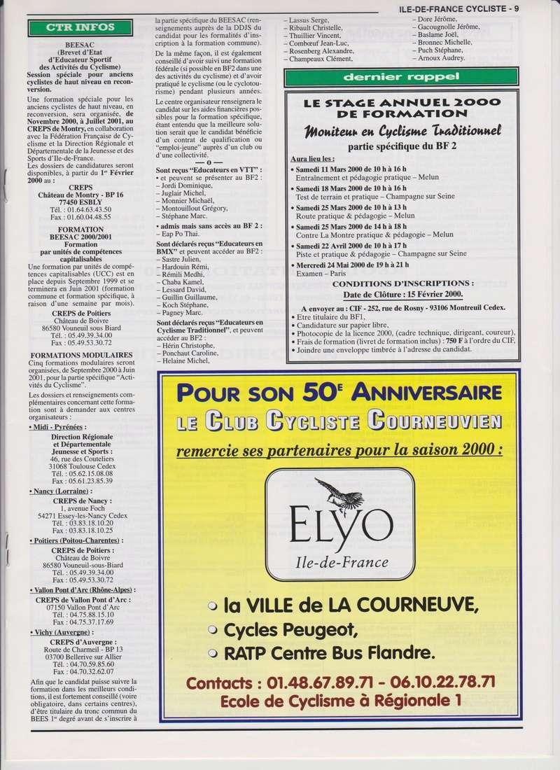 Coureurs et Clubs de janvier 2000 à juillet 2004 00933