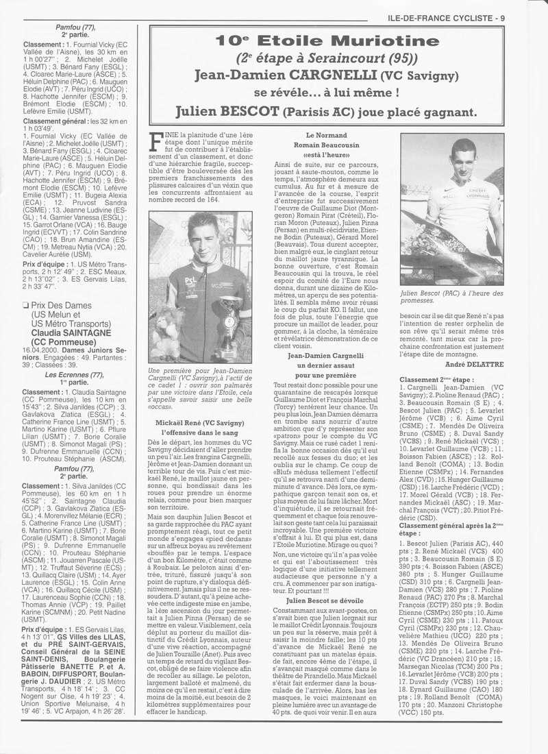 Coureurs et Clubs de janvier 2000 à juillet 2004 - Page 4 00936