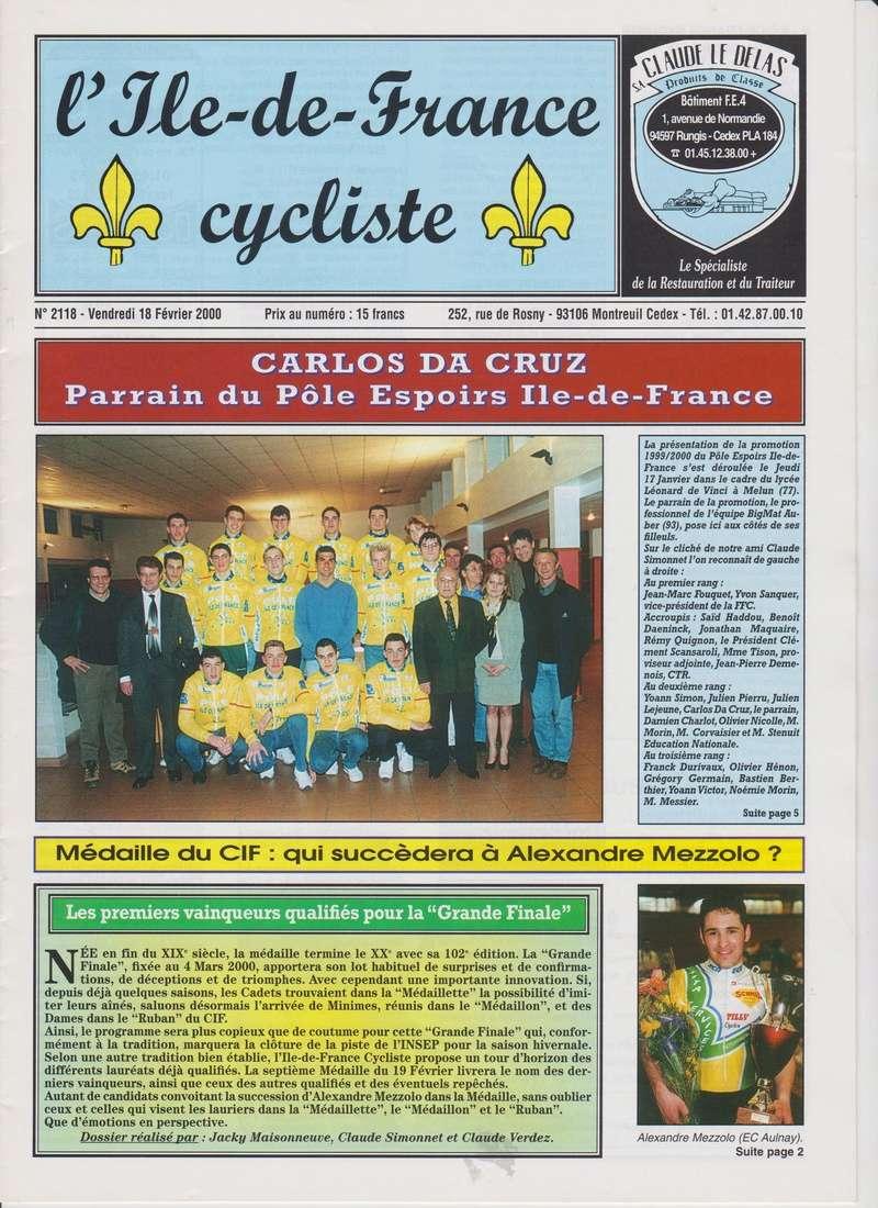 Coureurs et Clubs de janvier 2000 à juillet 2004 00_00111