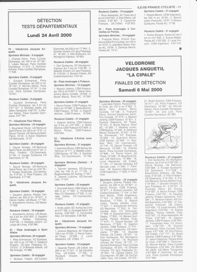Coureurs et Clubs de janvier 2000 à juillet 2004 - Page 4 01135