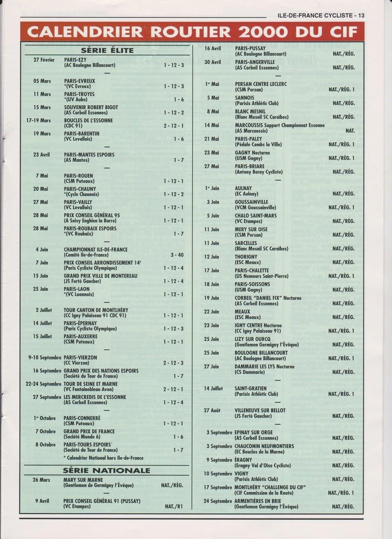 Coureurs et Clubs de janvier 2000 à juillet 2004 01335