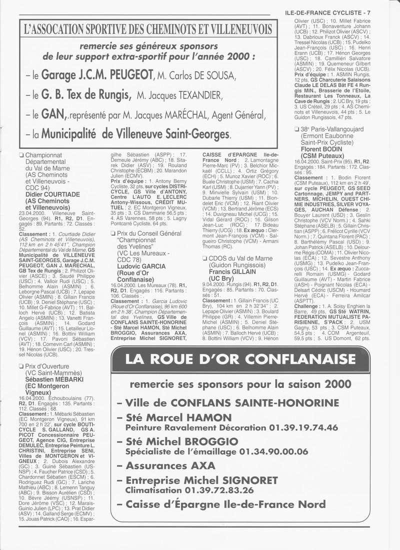 Coureurs et Clubs de janvier 2000 à juillet 2004 - Page 4 02522