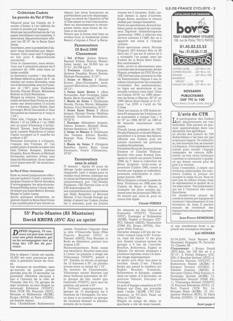 Coureurs et Clubs de janvier 2000 à juillet 2004 - Page 4 0_00318