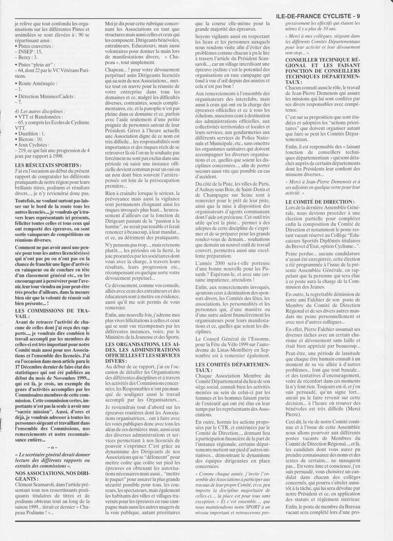 Coureurs et Clubs de janvier 2000 à juillet 2004 0_00916
